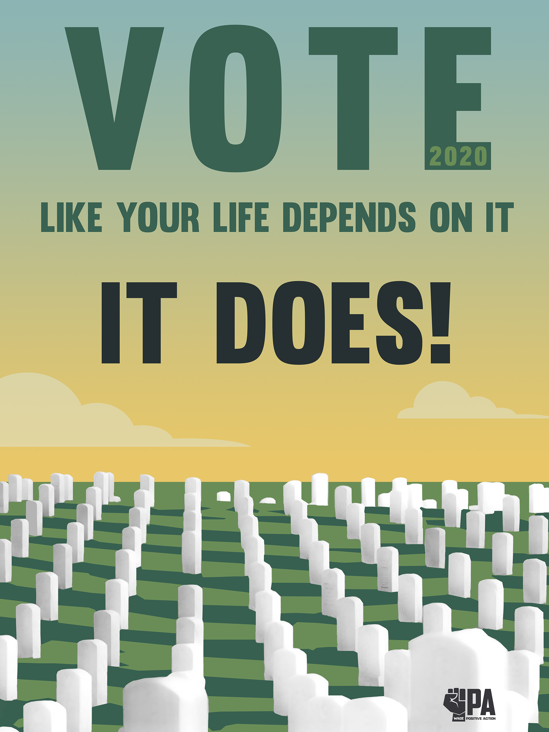 Vote Like Your Life Depends on It